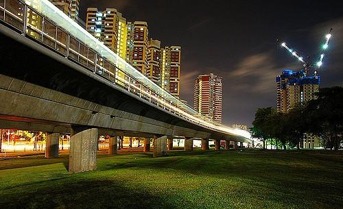 Artra Condo Redhill MRT Night View