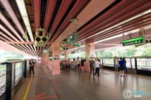 Redhill MRT Station Platform View