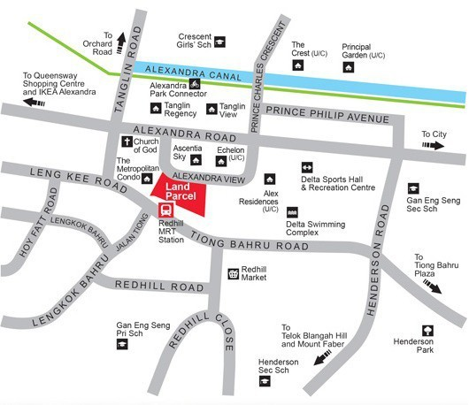URA releases 2 residential sites for sale, at Redhill and Sembawang